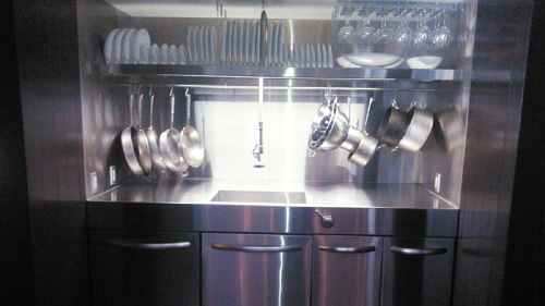 Stainless Steel Kitchen by Universal Metal Fabricators, Inc.